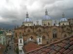 View from hotel El Monasterio in Cuenca, Ecuador
