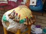 """Weaving """"machine"""" in Pirangi"""