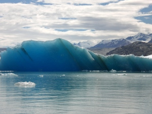 One of millions floating chunks of ice