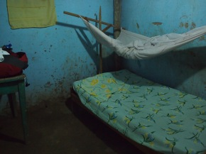 "After 2 nights staying in this delightful ""hotel room""  in a shitty little town, I was actually excited to get back to Tarapoto.  Times are a'changin'."