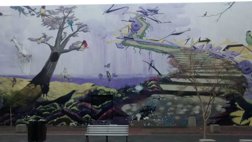 Funky street art