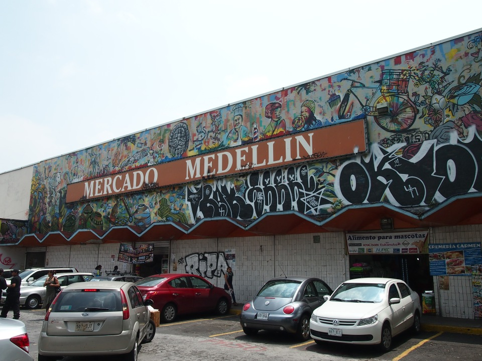 I had read about there being a Colombian neighborhood and set out to find it - loved, loved, loved Mercado Medellin!