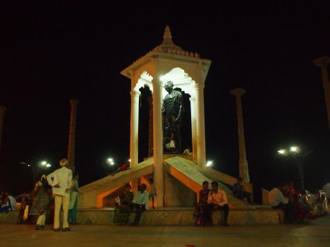 Pondicherry's tribute to Gandhi
