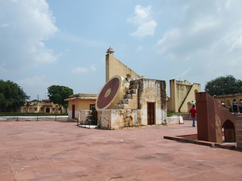 largest sundial in the world and other instruments