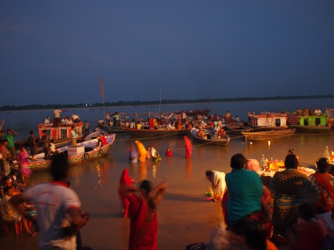 Rituals on the Ganges