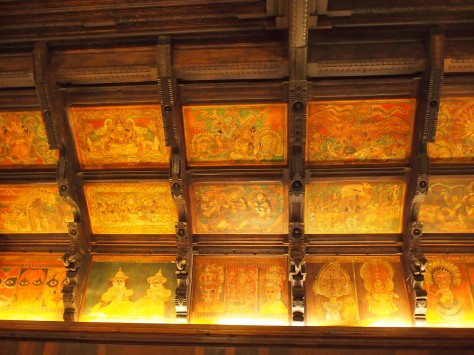 Even the ceiling of this museum was a treasure!