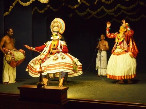 Kathakali in action