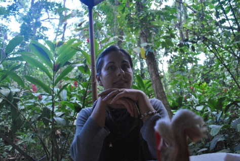 In transit through Palenque on Christmas Eve 2011....just enough time for a plate of jungle pasta at Don Muchos!
