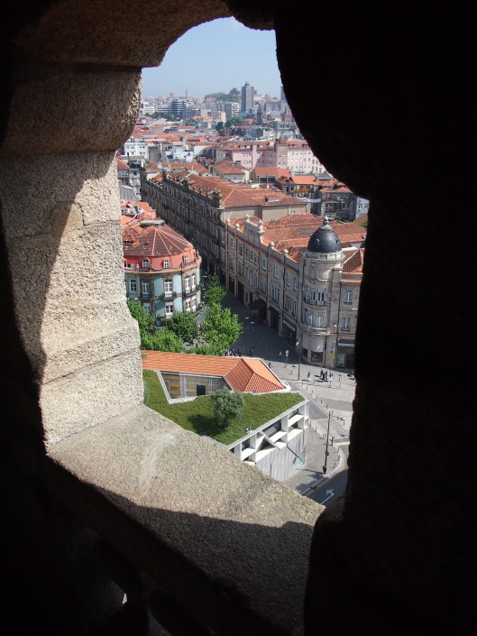 this is a city with many that provide a great view.  This is from the top of the bell tower.