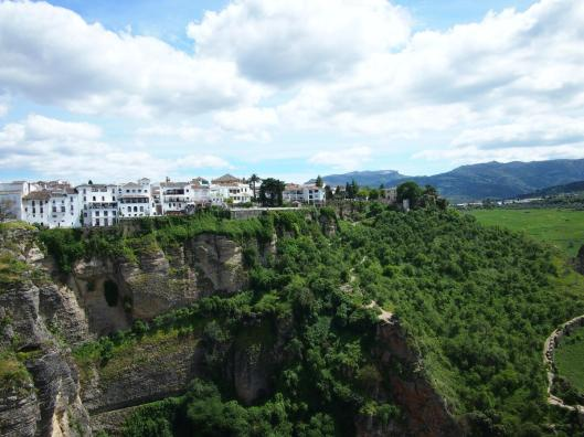 Cliff-side town of Ronda.