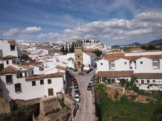 The white town of Ronda.