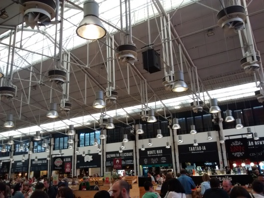 The hip and trendy Mercado da Ribeira